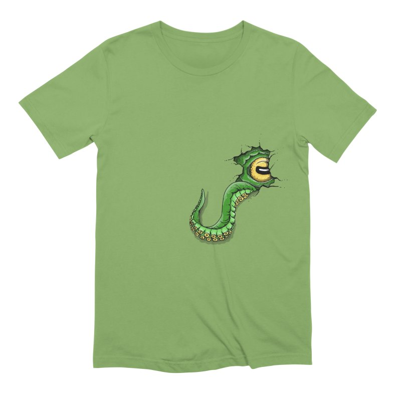 Octopus In Need Of A Hug Men's Extra Soft T-Shirt by Hadeda Creative's Artist Shop