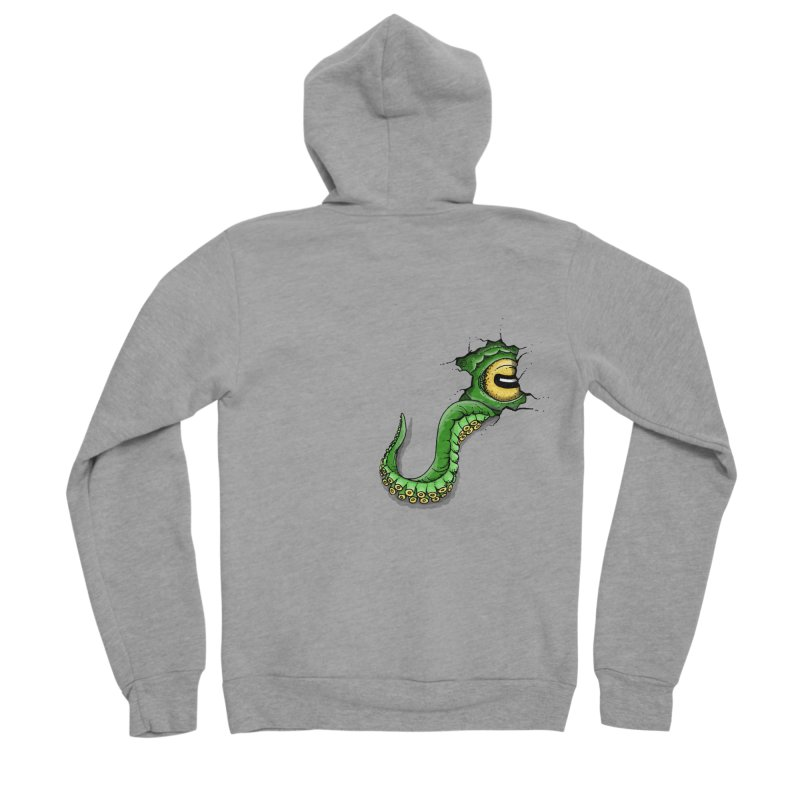 Octopus In Need Of A Hug Women's Sponge Fleece Zip-Up Hoody by Hadeda Creative's Artist Shop