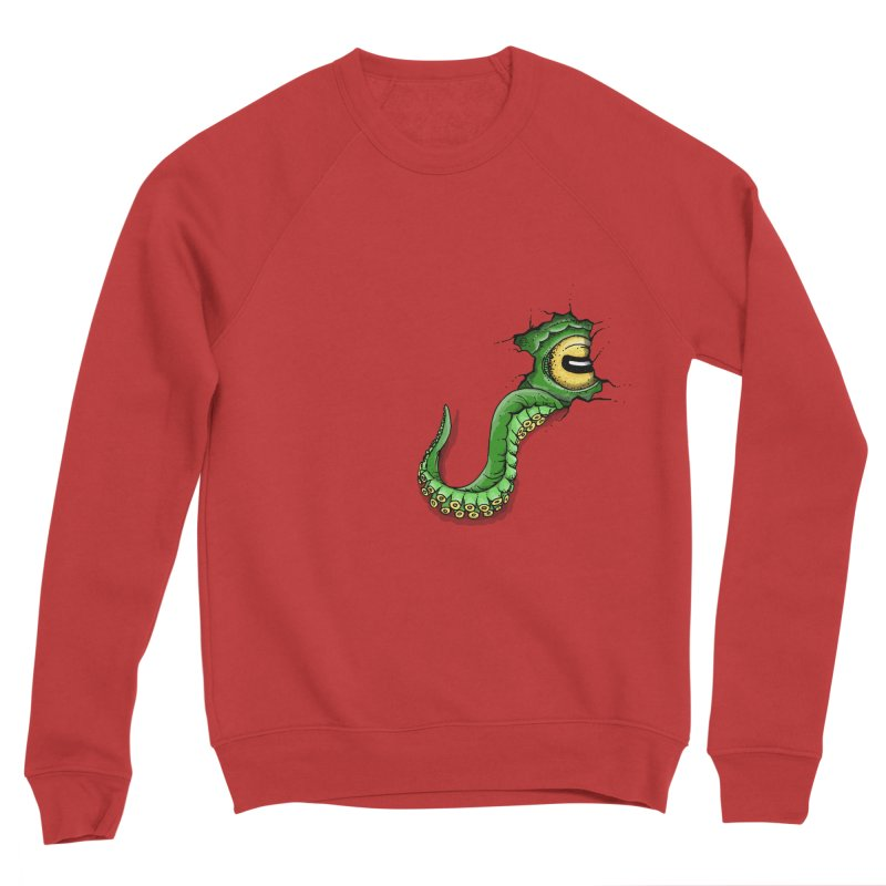 Octopus In Need Of A Hug Women's Sponge Fleece Sweatshirt by Hadeda Creative's Artist Shop