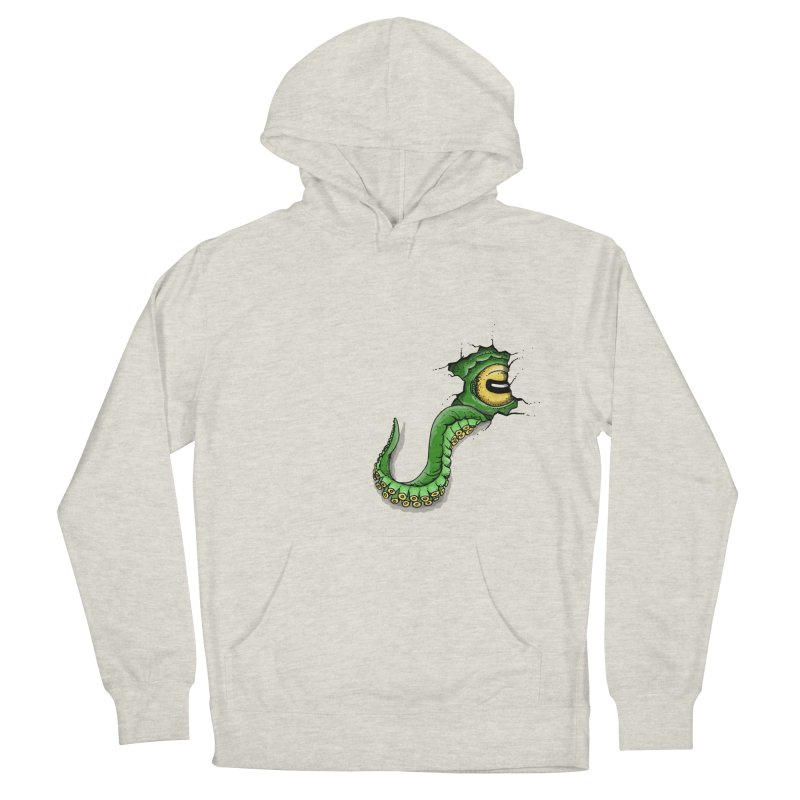 Octopus In Need Of A Hug Men's French Terry Pullover Hoody by Hadeda Creative's Artist Shop