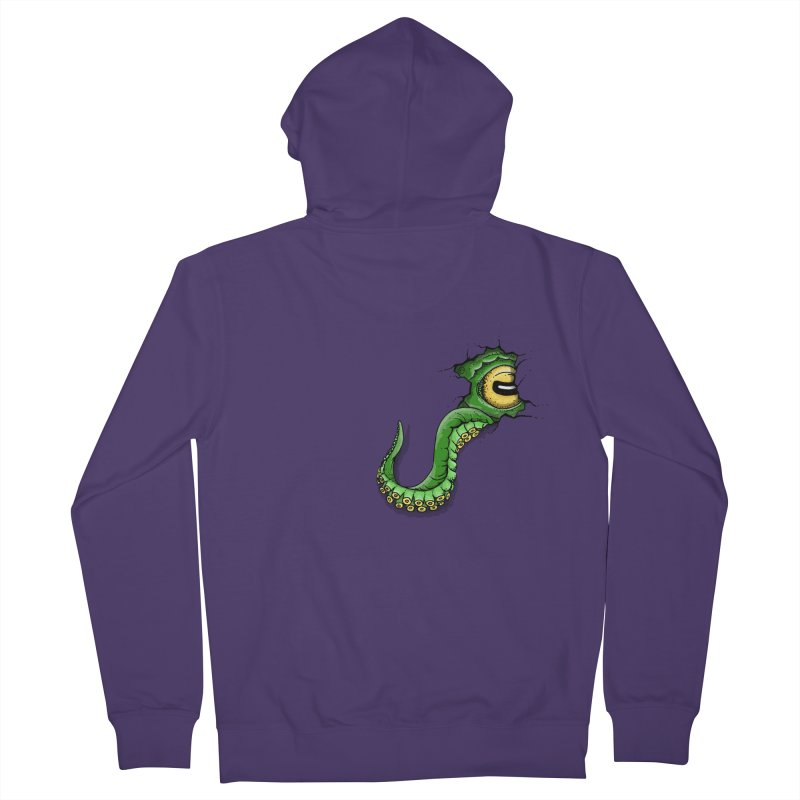 Octopus In Need Of A Hug Women's French Terry Zip-Up Hoody by Hadeda Creative's Artist Shop