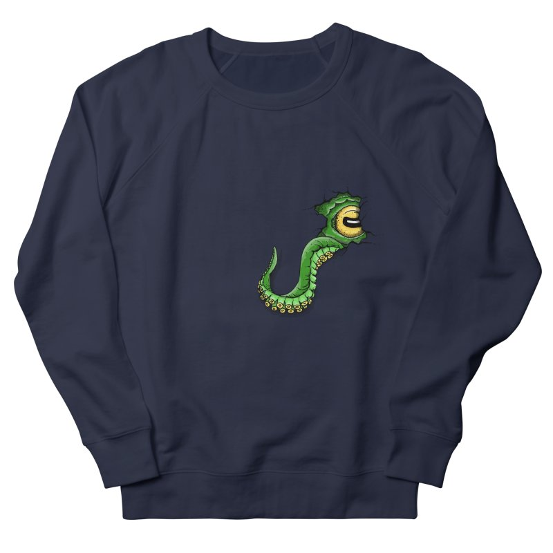 Octopus In Need Of A Hug Men's French Terry Sweatshirt by Hadeda Creative's Artist Shop