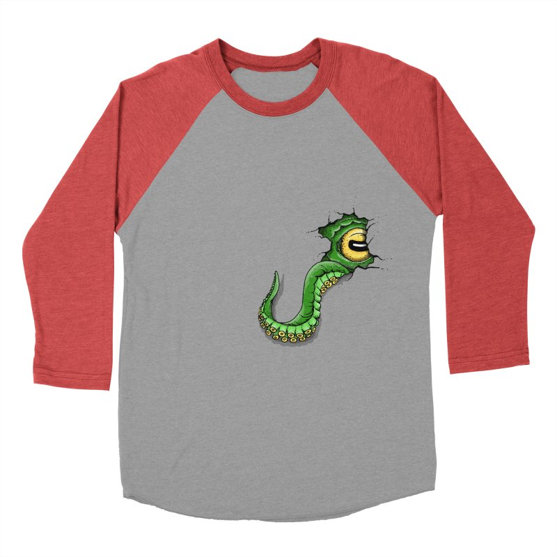 Octopus In Need Of A Hug Women's Baseball Triblend Longsleeve T-Shirt by Hadeda Creative's Artist Shop