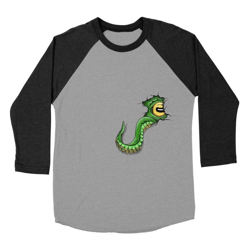 Octopus In Need Of A Hug Women's Baseball Triblend Longsleeve T-Shirt by Hadeda Creative's Artist Shop