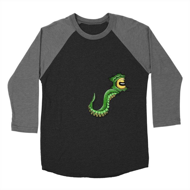 Octopus In Need Of A Hug Men's Baseball Triblend Longsleeve T-Shirt by Hadeda Creative's Artist Shop