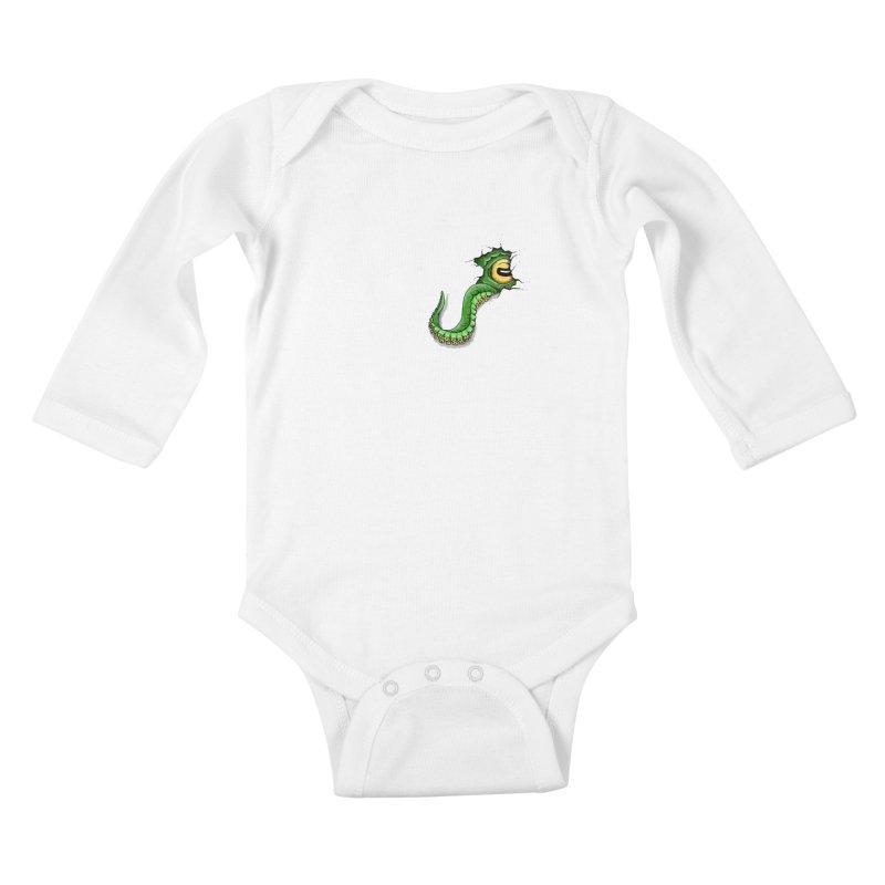 Octopus In Need Of A Hug Kids Baby Longsleeve Bodysuit by Hadeda Creative's Artist Shop