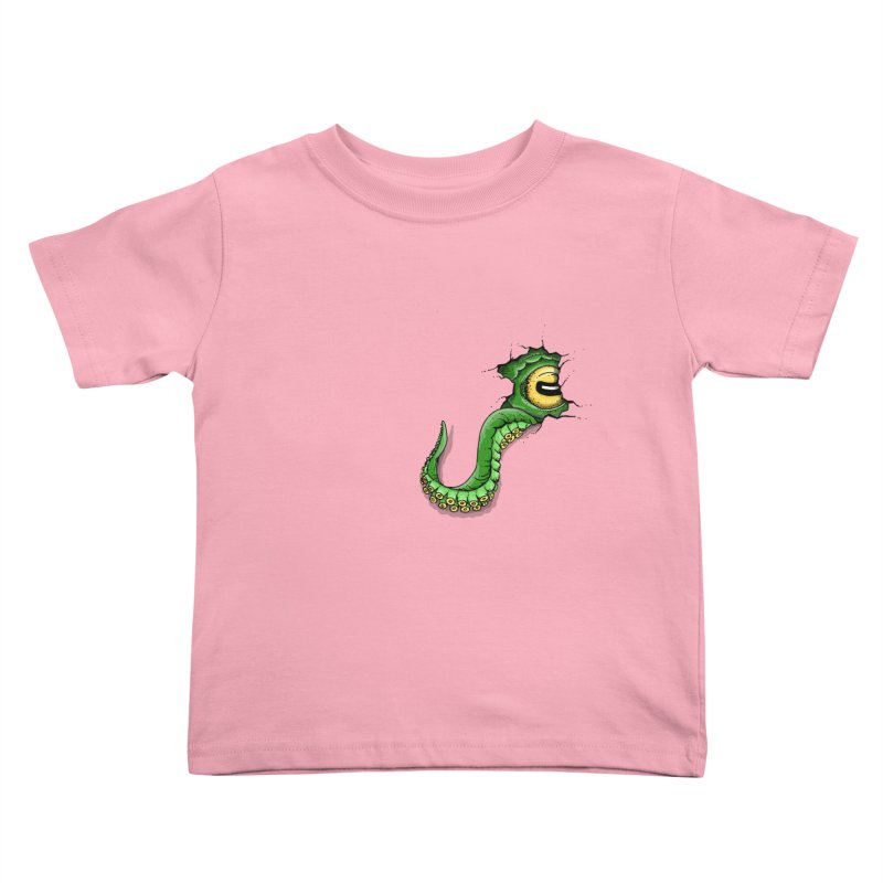 Octopus In Need Of A Hug Kids Toddler T-Shirt by Hadeda Creative's Artist Shop