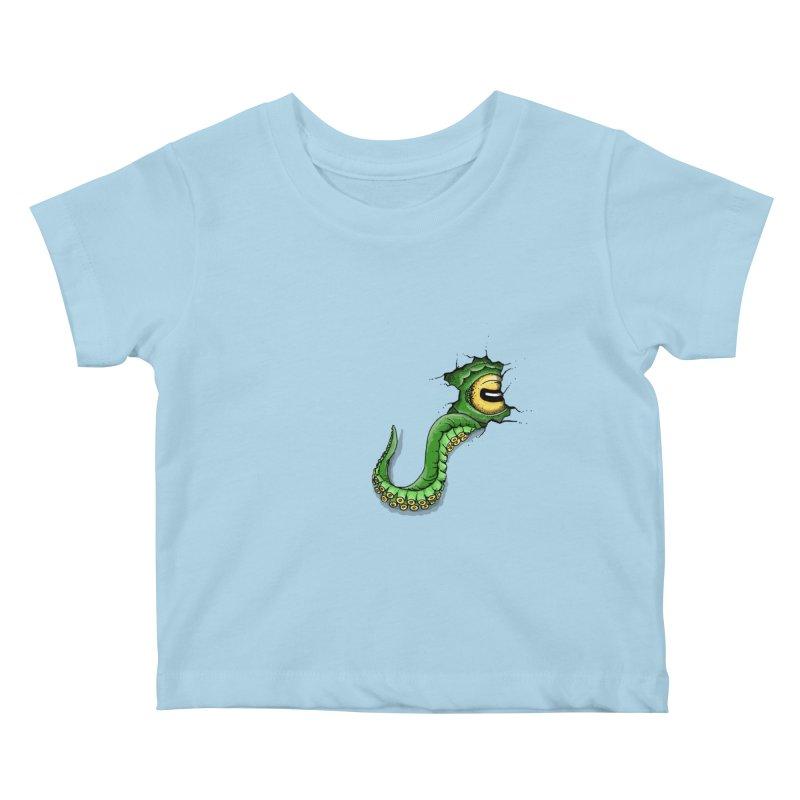 Octopus In Need Of A Hug Kids Baby T-Shirt by Hadeda Creative's Artist Shop