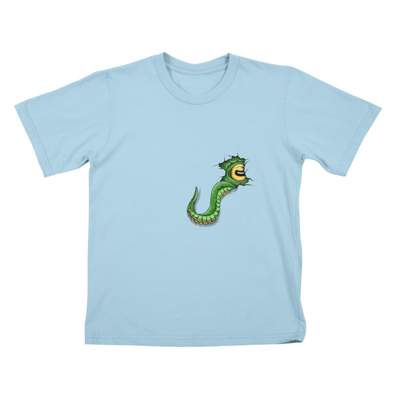 Octopus In Need Of A Hug Kids T-Shirt by Hadeda Creative's Artist Shop
