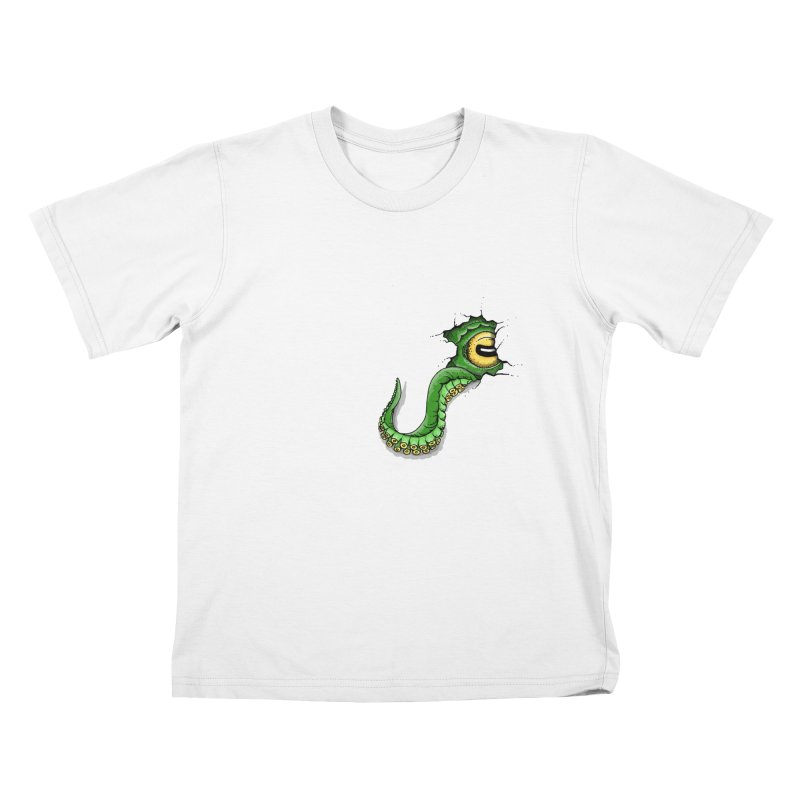 Octopus In Need Of A Hug Kids T-Shirt by Hadeda Creative's Artist Shop