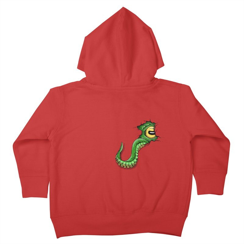 Octopus In Need Of A Hug Kids Toddler Zip-Up Hoody by Hadeda Creative's Artist Shop