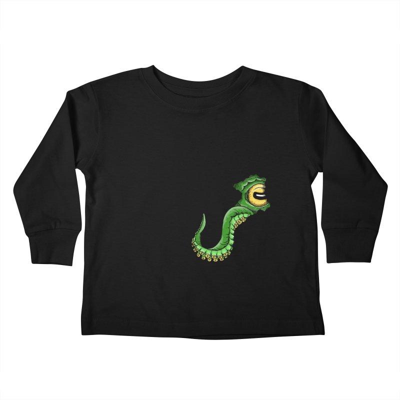 Octopus In Need Of A Hug Kids Toddler Longsleeve T-Shirt by Hadeda Creative's Artist Shop