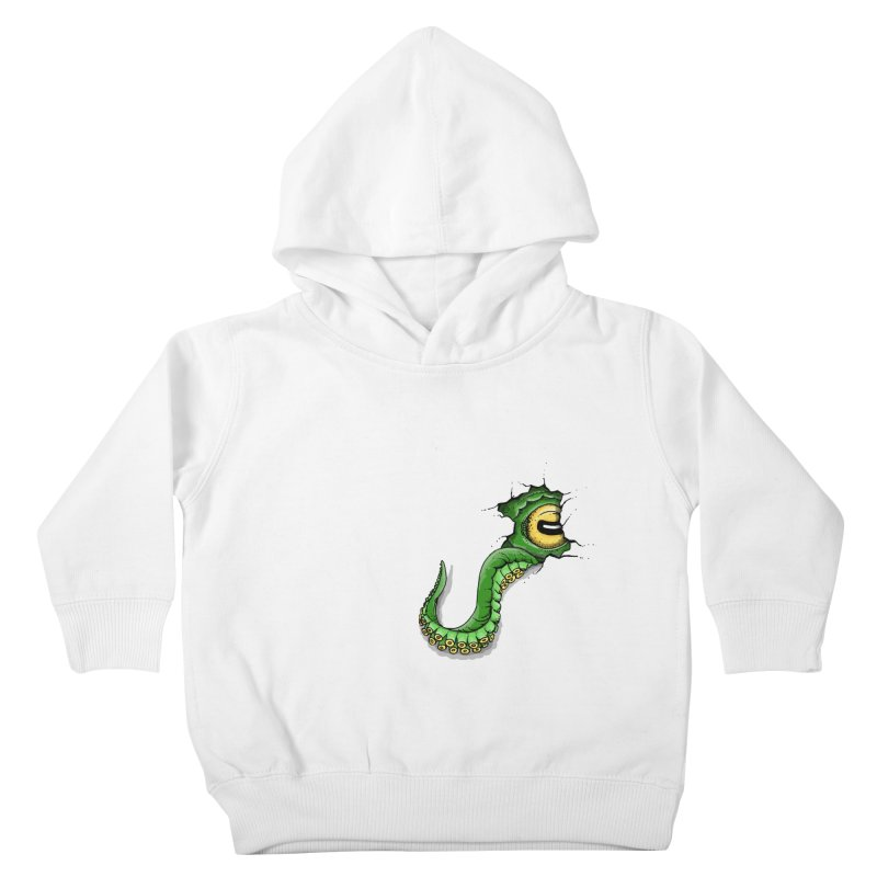 Octopus In Need Of A Hug Kids Toddler Pullover Hoody by Hadeda Creative's Artist Shop