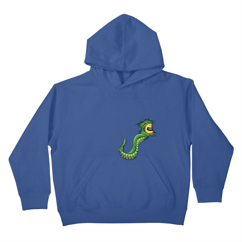 Octopus In Need Of A Hug Kids Pullover Hoody by Hadeda Creative's Artist Shop