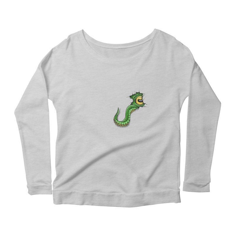 Octopus In Need Of A Hug Women's Scoop Neck Longsleeve T-Shirt by Hadeda Creative's Artist Shop
