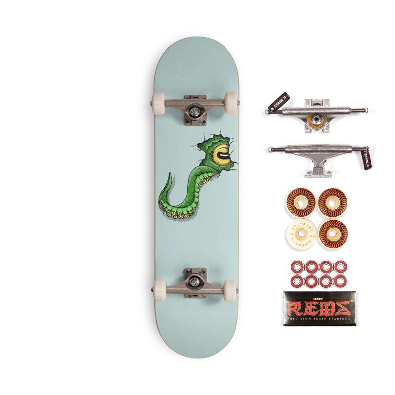 Octopus In Need Of A Hug Accessories Skateboard by Hadeda Creative's Artist Shop