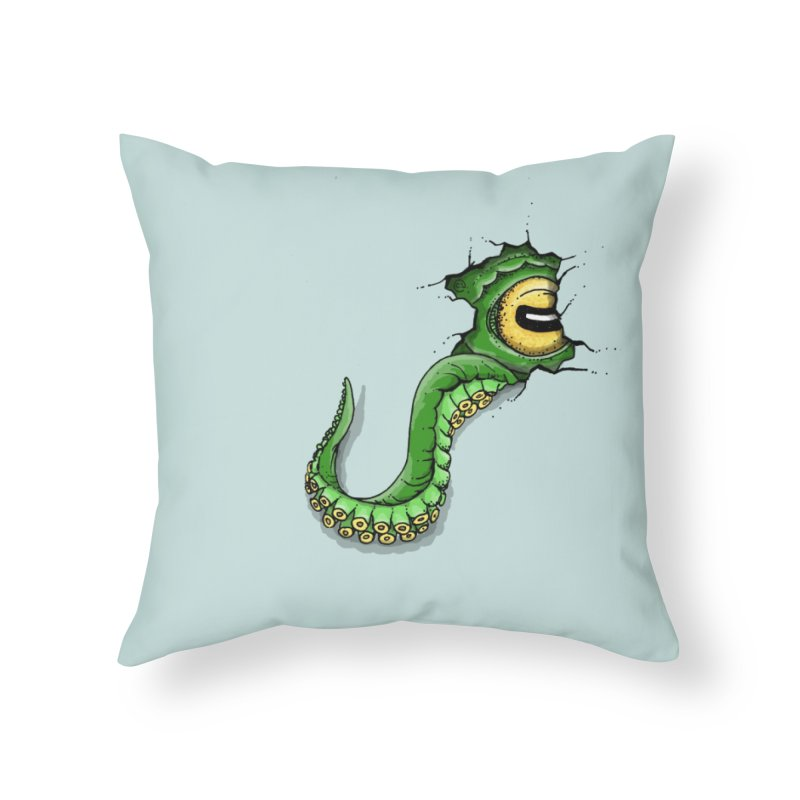Octopus In Need Of A Hug Home Throw Pillow by Hadeda Creative's Artist Shop