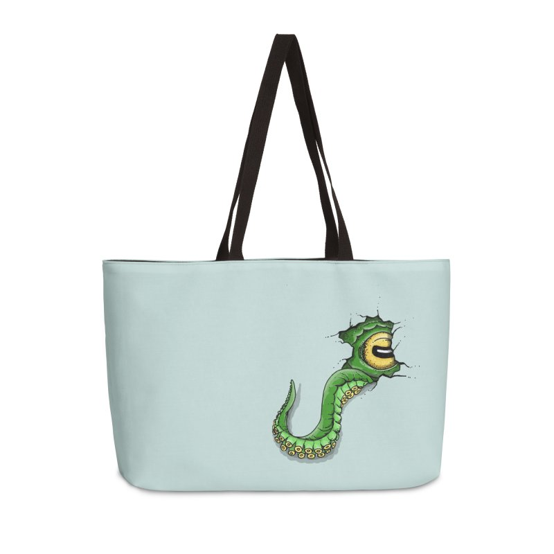 Octopus In Need Of A Hug Accessories Weekender Bag Bag by Hadeda Creative's Artist Shop