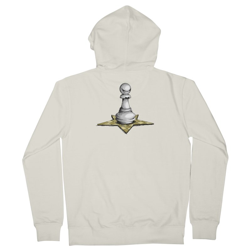 Pawn Star Men's French Terry Zip-Up Hoody by Hadeda Creative's Artist Shop