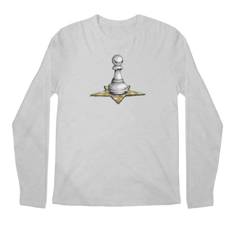 Pawn Star Men's Regular Longsleeve T-Shirt by Hadeda Creative's Artist Shop
