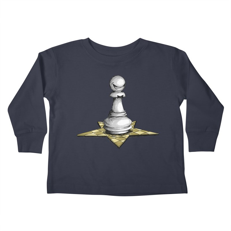Pawn Star Kids Toddler Longsleeve T-Shirt by Hadeda Creative's Artist Shop