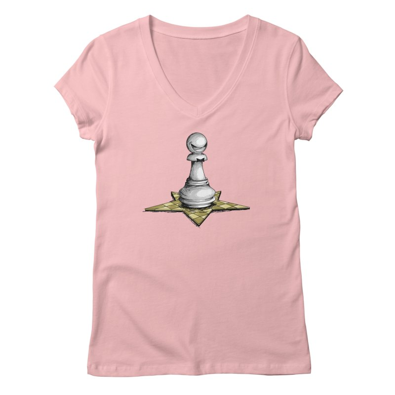 Pawn Star Women's Regular V-Neck by Hadeda Creative's Artist Shop