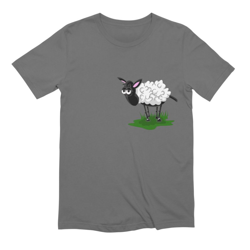 Shirby The Sheep Men's T-Shirt by Hadeda Creative's Artist Shop