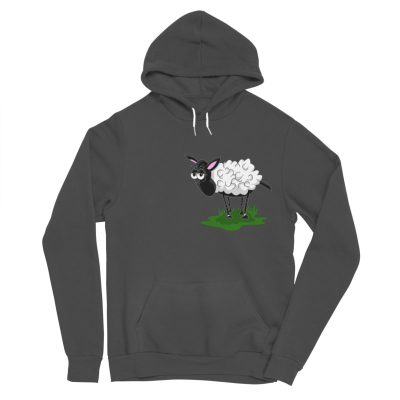 Shirby The Sheep Women's Sponge Fleece Pullover Hoody by Hadeda Creative's Artist Shop