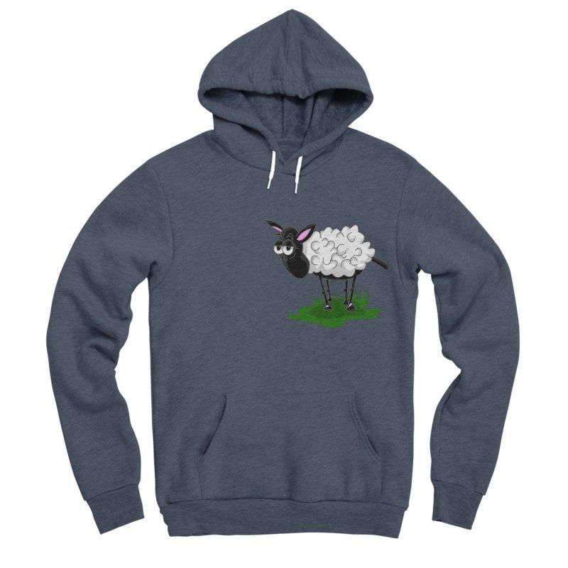 Shirby The Sheep Men's Sponge Fleece Pullover Hoody by Hadeda Creative's Artist Shop