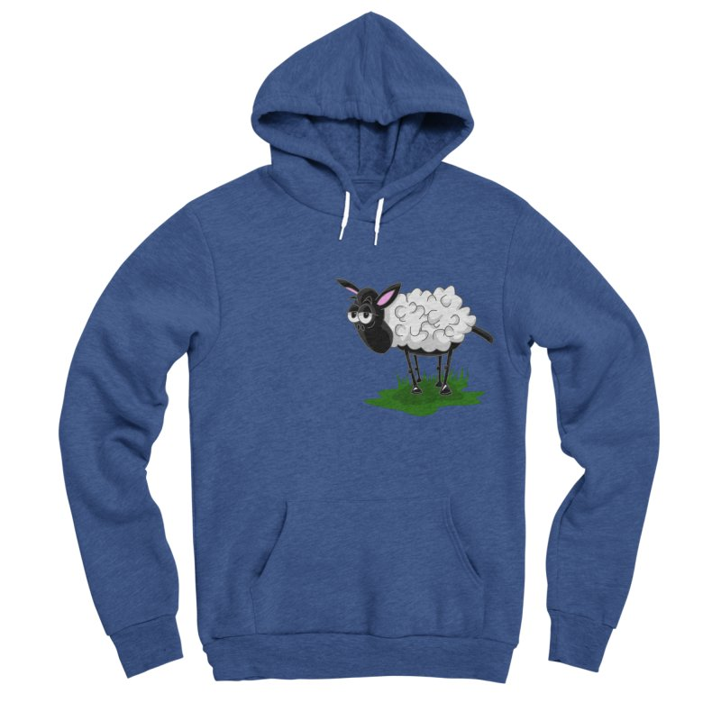 Shirby The Sheep Women's Sponge Fleece Pullover Hoody by Hadeda Creative's Artist Shop