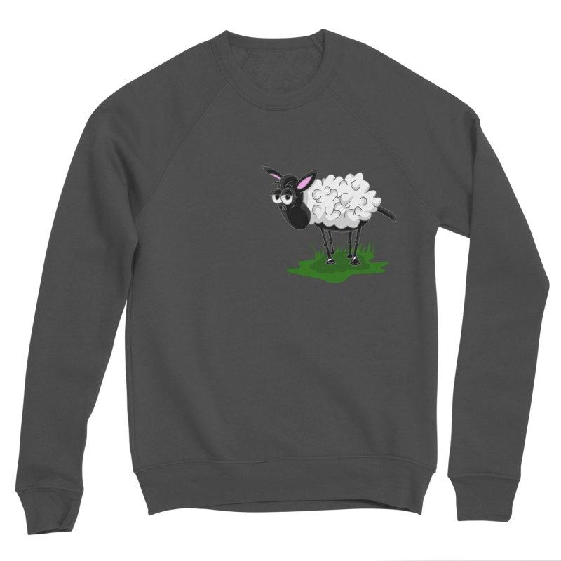 Shirby The Sheep Women's Sponge Fleece Sweatshirt by Hadeda Creative's Artist Shop