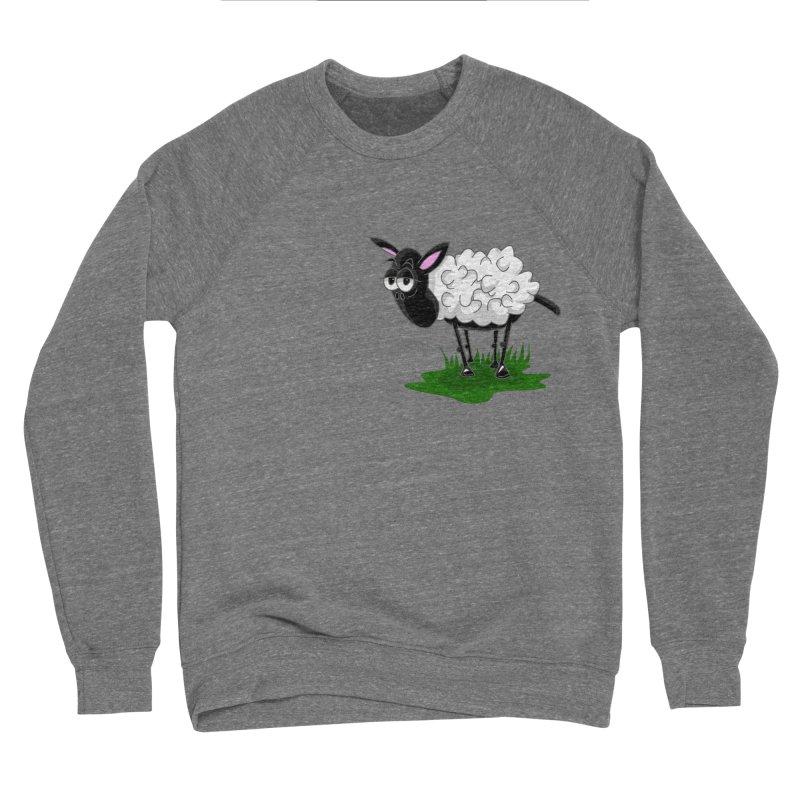 Shirby The Sheep Men's Sponge Fleece Sweatshirt by Hadeda Creative's Artist Shop
