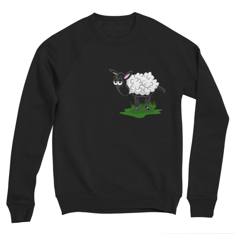 Shirby The Sheep Women's Sponge Fleece Sweatshirt by Hadeda Creative's Artist Shop