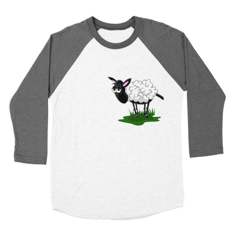 Shirby The Sheep Women's Longsleeve T-Shirt by Hadeda Creative's Artist Shop