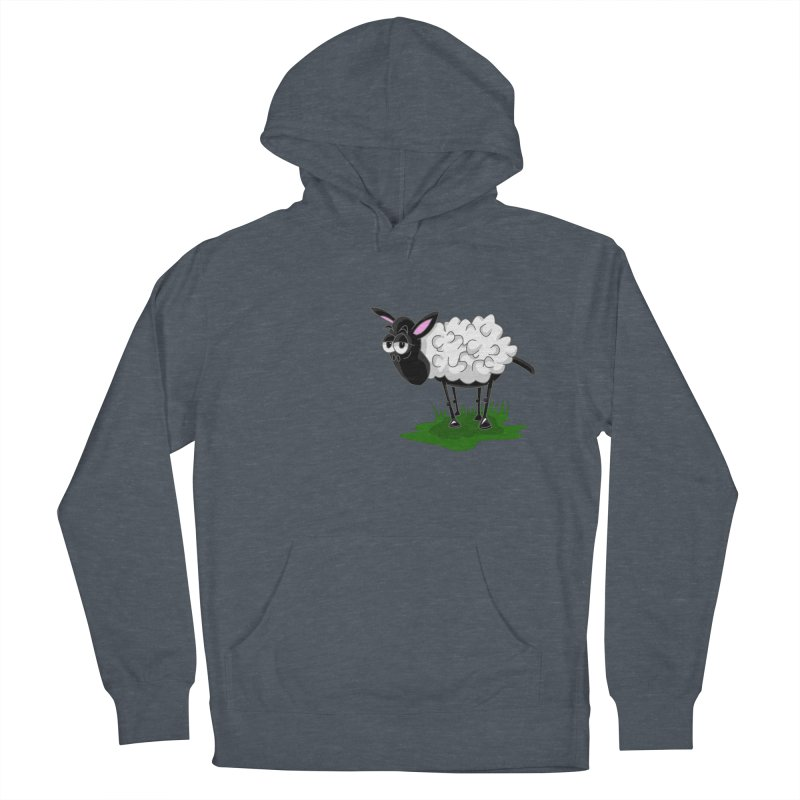 Shirby The Sheep Women's French Terry Pullover Hoody by Hadeda Creative's Artist Shop