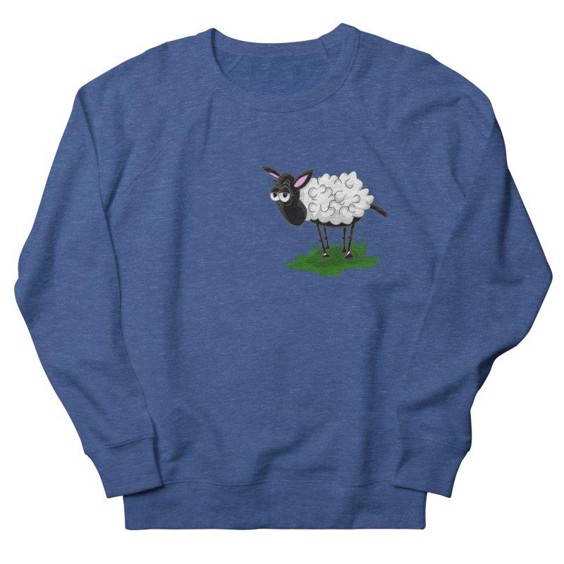 Shirby The Sheep Women's French Terry Sweatshirt by Hadeda Creative's Artist Shop