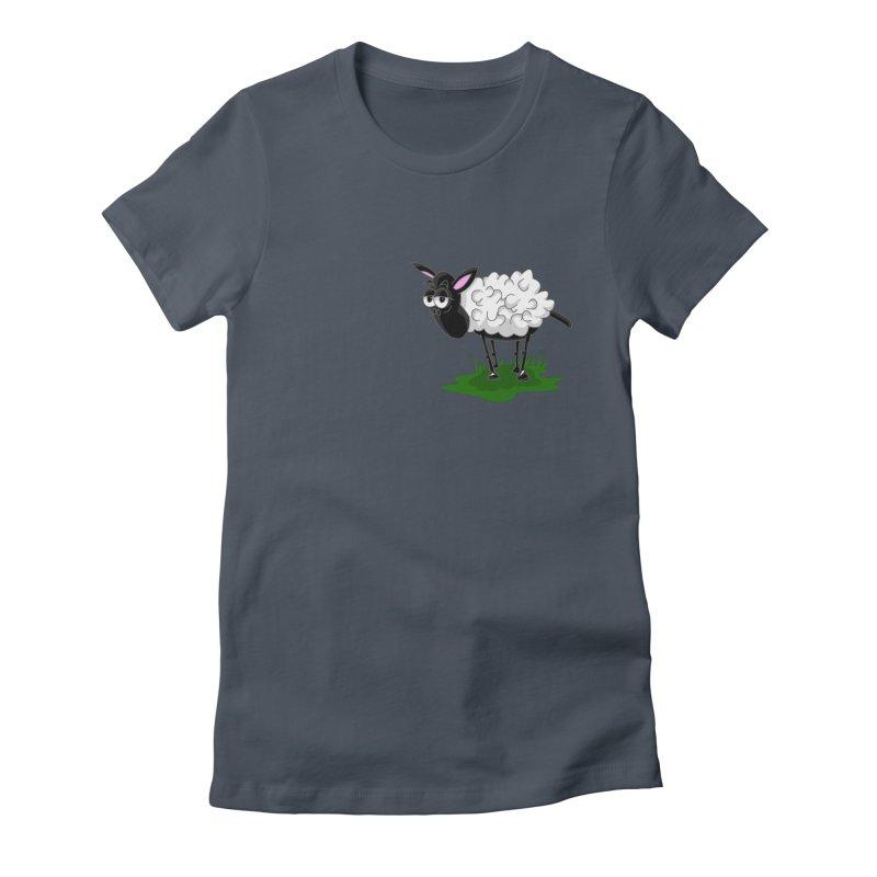 Shirby The Sheep Women's T-Shirt by Hadeda Creative's Artist Shop