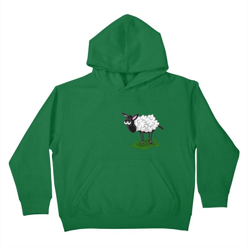 Shirby The Sheep Kids Pullover Hoody by Hadeda Creative's Artist Shop