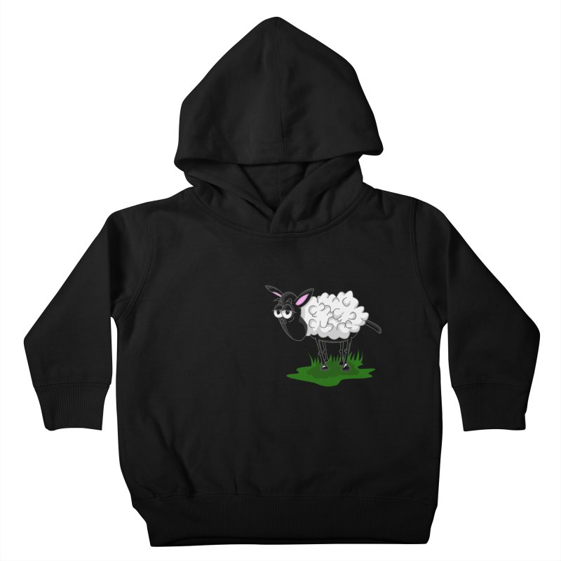 Shirby The Sheep Kids Toddler Pullover Hoody by Hadeda Creative's Artist Shop
