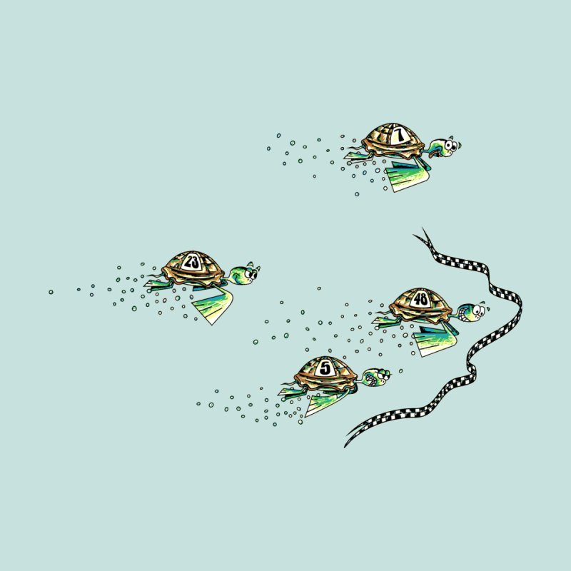Turtle Rally Men's T-Shirt by Hadeda Creative's Artist Shop