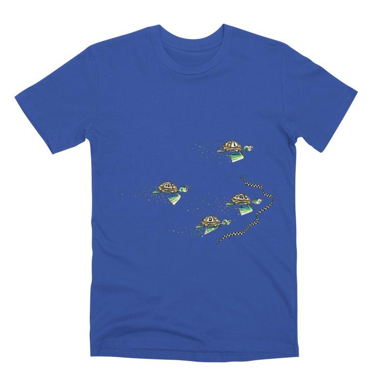 Turtle Rally Men's Premium T-Shirt by Hadeda Creative's Artist Shop