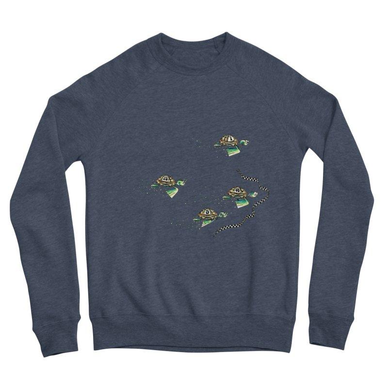 Turtle Rally Men's Sponge Fleece Sweatshirt by Hadeda Creative's Artist Shop
