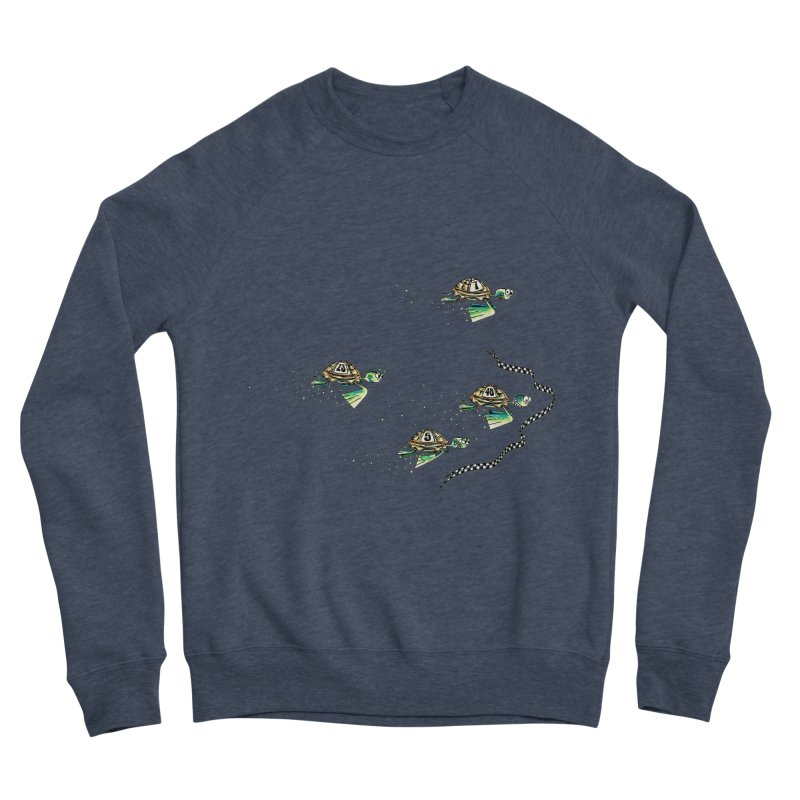 Turtle Rally Women's Sponge Fleece Sweatshirt by Hadeda Creative's Artist Shop