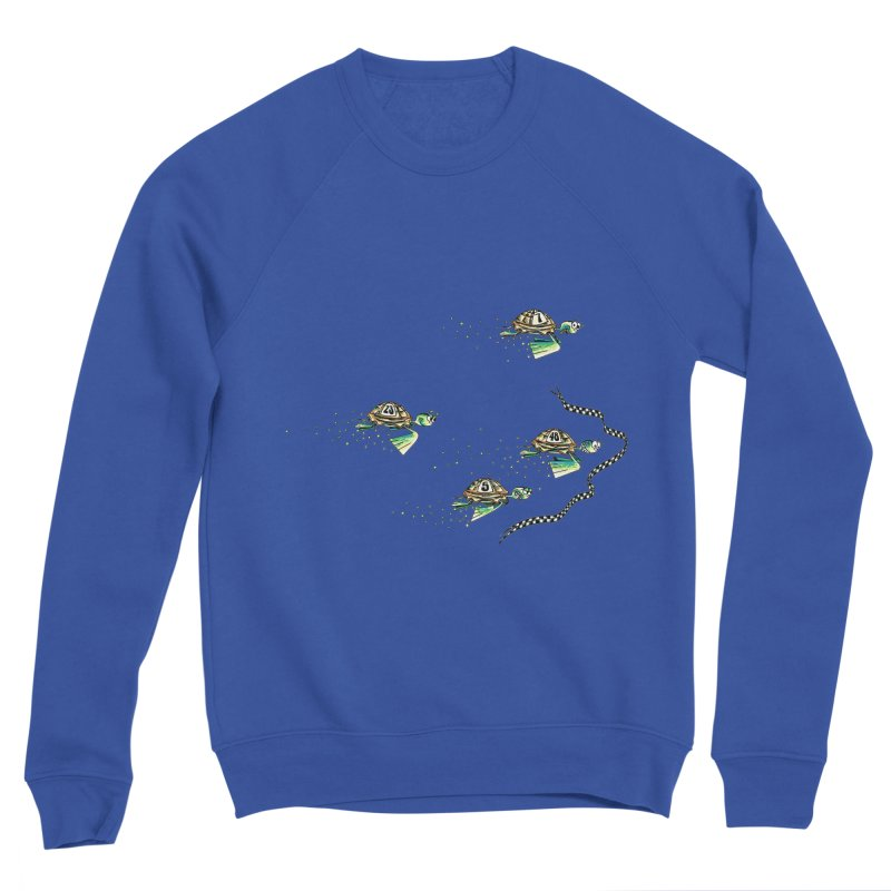Turtle Rally Women's Sponge Fleece Sweatshirt by Hadeda Creative's Artist Shop