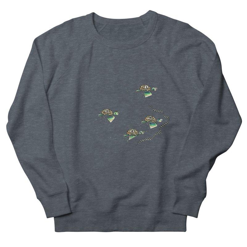 Turtle Rally Men's French Terry Sweatshirt by Hadeda Creative's Artist Shop