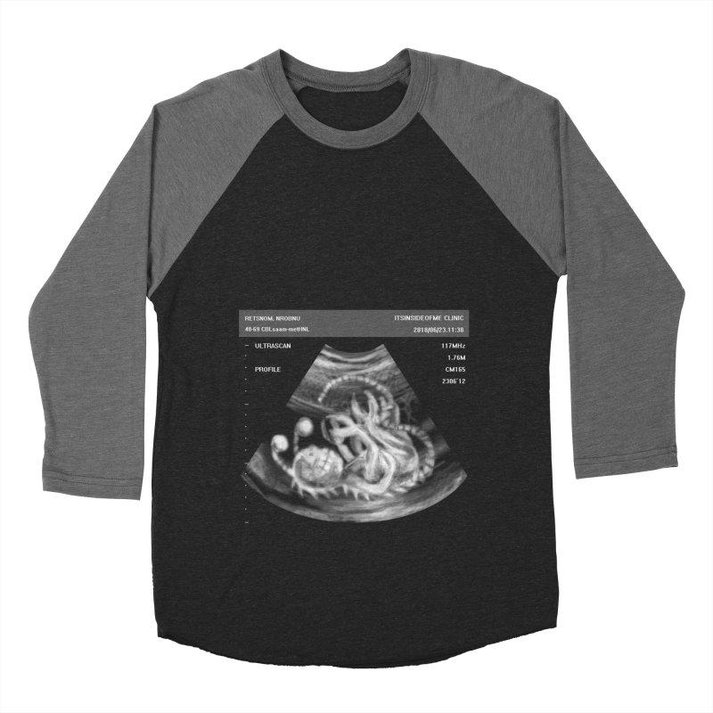 Monster Ultrasound Men's Baseball Triblend Longsleeve T-Shirt by Hadeda Creative's Artist Shop