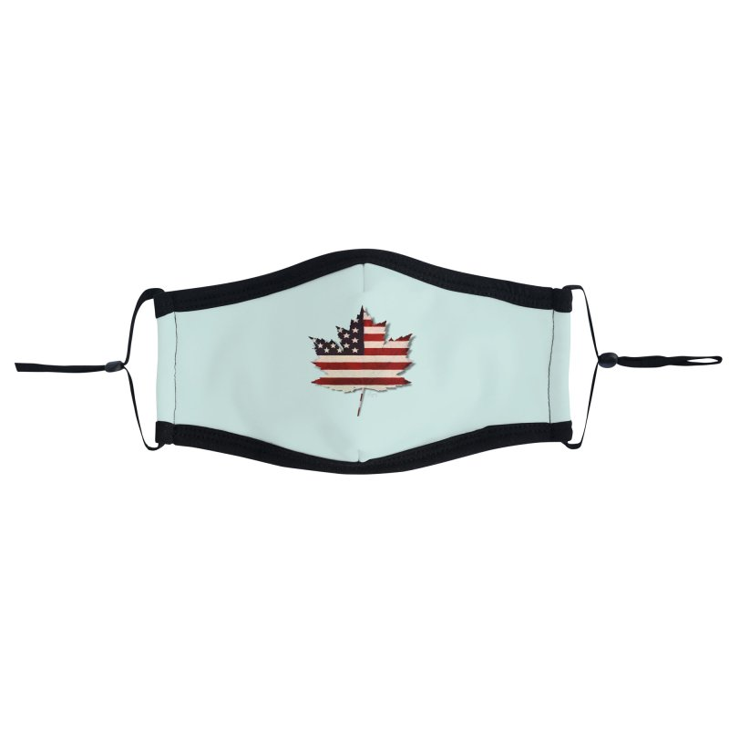 USA Maple Accessories Face Mask by Hadeda Creative's Artist Shop