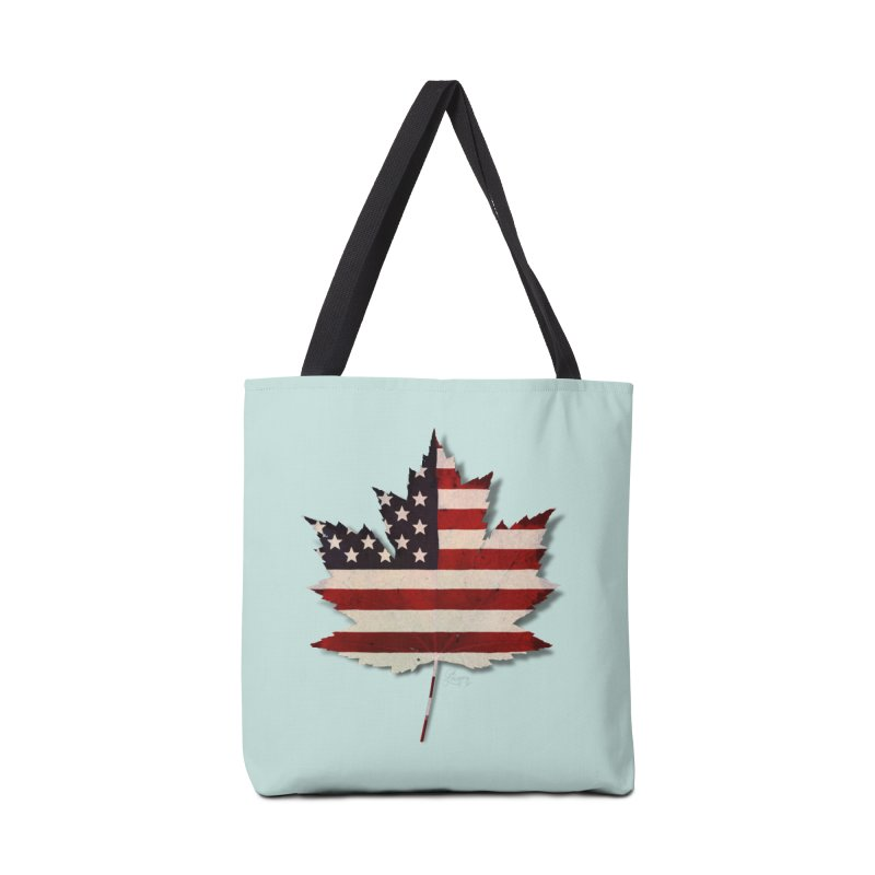USA Maple Accessories Bag by Hadeda Creative's Artist Shop
