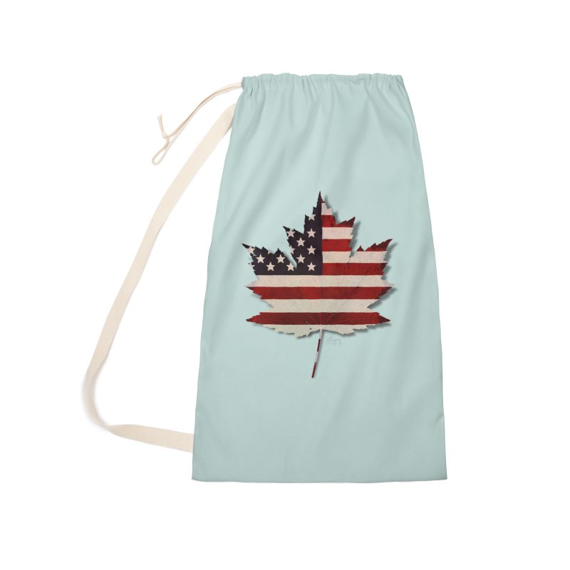 USA Maple Accessories Laundry Bag Bag by Hadeda Creative's Artist Shop