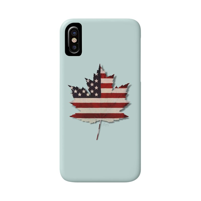 USA Maple Accessories Phone Case by Hadeda Creative's Artist Shop